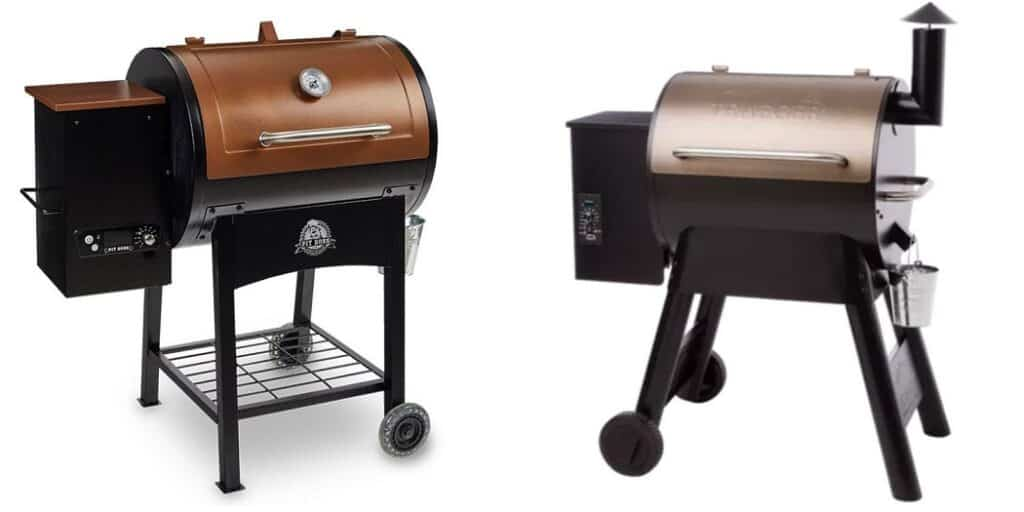 Pit boss vs. Traeger- Which is a better pellet grill brand?